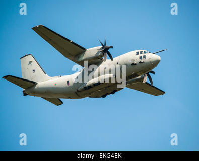 Italian Air Force C27J Spartan Alenia Aermacchi RIAT 2014 - Stock Photo