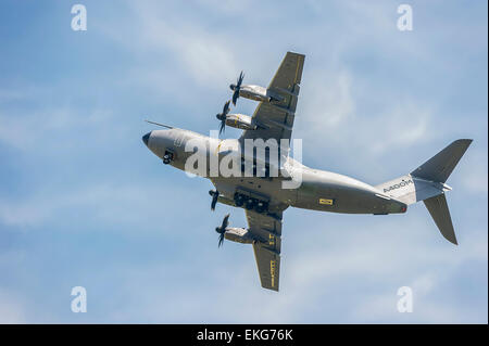 Airbus A400M transport aircraft RIAT 2014 - Stock Photo