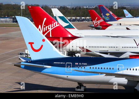 Manchester airport terminal two. - Stock Photo