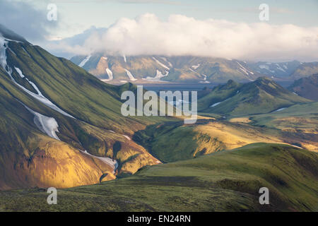 Icelandic highlands. - Stock Photo
