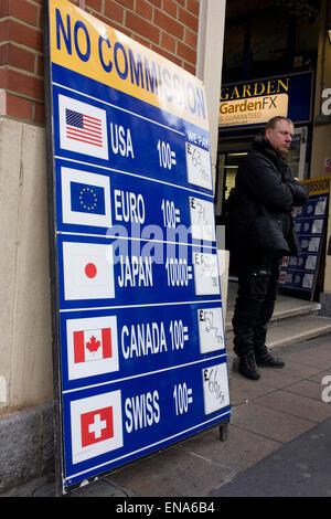 Bureau de change 0 commission money exchange sign in prague czech stock photo royalty free - Bureau de change paris 4 ...