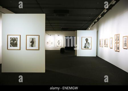 Rome,  photographic exhibition in the auditorium of the Parco Della musica - Stock Photo