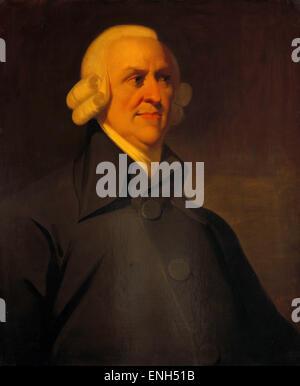 Adam Smith, Scottish moral philosopher, pioneer of political economy, and key Scottish figure. - Stock Photo