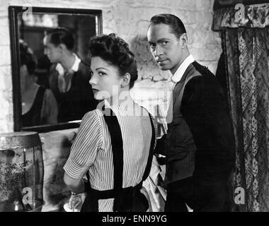 Five Graves to Cairo, USA 1943, aka: Fünf Gräber bis Kairo, Regie: Billy Wilder, Darsteller: Anne Baxter, Franchot - Stock Photo