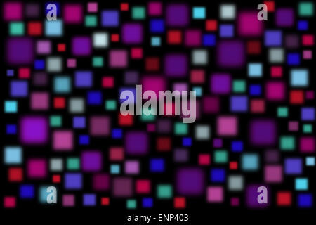 Creative background with colorful blurred squares - Stockfoto