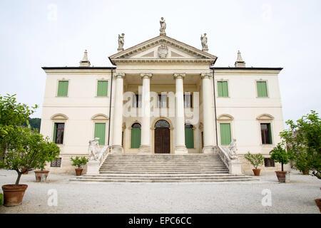 Montecchio Maggiore(Vicenza, Veneto, Italy) - Villa Cordellina Lombardi, built in 18th century - Stock Photo