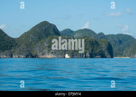 Tropical landscape in the philippines - Stockfoto