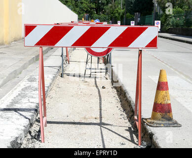 road works power cable stock photo royalty free image 103469417 alamy. Black Bedroom Furniture Sets. Home Design Ideas