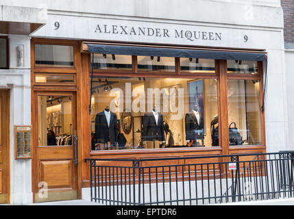 Alexander Mcqueen in Savile Row London Britain - Stock Photo