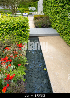 The telegraph garden a gold medal winner at the chelsea flower show stock photo royalty free - Chelsea flower show gold medal winners ...