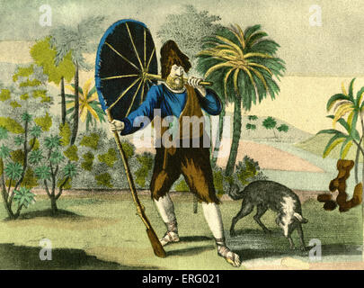 a literary analysis of the eighteenth century novel by daniel defoe And digesting in literature from defoe to austen  i begin an analysis of eating  turtle in robinson crusoe with a discussion of cannibalism in.