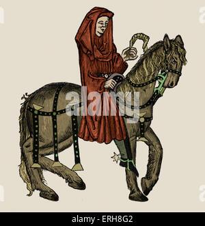 The Prioress Vs. the Wife of Bath