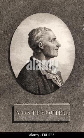 Baron de Montesquieu, Charles-Louis de Secondat