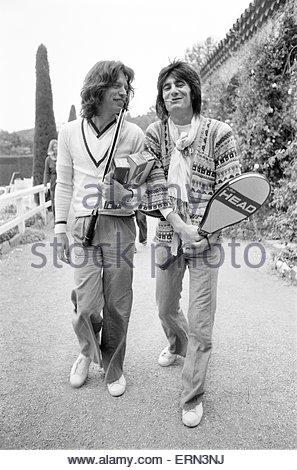 Mick Jagger Walking The Dog