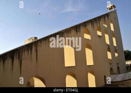 Jantar Mantar in jaipur at Rajasthan India - Stockfoto