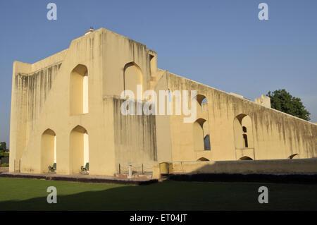 Jantar Mantar in jaipur at Rajasthan India - Stock Photo