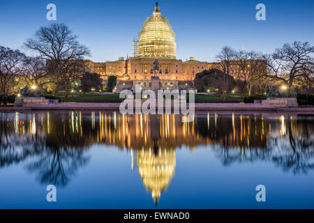 Washington, DC at the Capitol Building. - Stock Photo