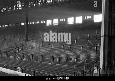 The Kop At Anfield Football Stadium The Home Of Liverpool F C Stock