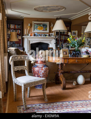 The Drawing Room In The Manor House Rozhdestveno Artist Zhukovsky Stock Photo Royalty Free