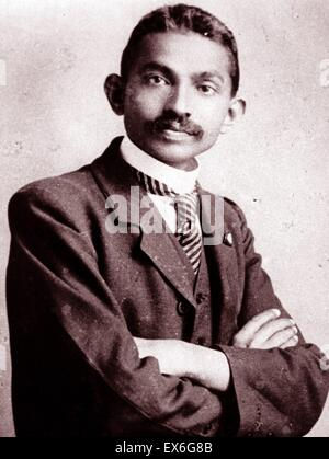 A biography of mahatma gandhi the leader of the indian independence movement in british ruled india