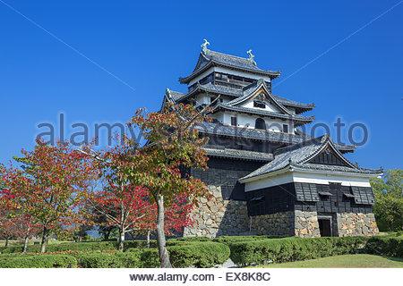 Japan, San'in Region, Shimane Prefecture, Matsue, View of Matsue Castle. - Stockfoto