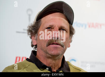 Karlovy Vary, Czech Republic. 9th July, 2015. Actor Bob Tarasuk arrived at the 50th International Film Festival - Stockfoto