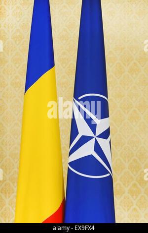 North atlantic treaty organization flag