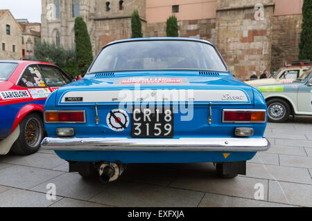 Ford Escort Mk1 Rally Car Stock Photo Royalty Free Image