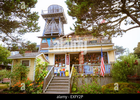 A store in mendocino california stock photo royalty free for Craft store santa rosa