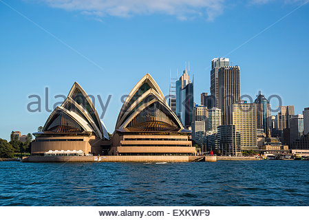 Sydney Opera House and CBD, Sydney, Australia - Stock Photo