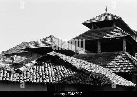 roof top tiles - Stock Photo