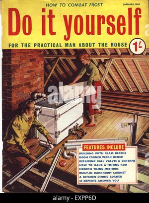 1960s uk home decorating magazine advert detail stock photo 1960s uk do it yourself magazine cover stock photo solutioingenieria Image collections