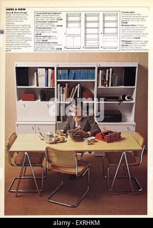 1970s uk habitat catalogue brochure plate stock photo for Catalogue habitat 2017
