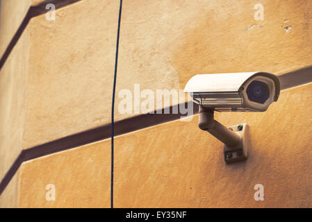 Closed circuit television camera or CCTV used for ...