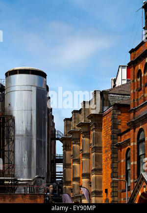 The Molson Coors Brewery in Burton upon Trent Staffordshire England UK - Stock Photo