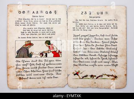 Kurrent—500 years of German handwriting