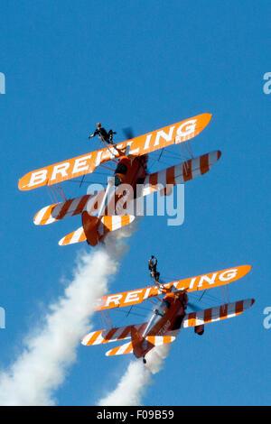 Blackpool Air Show, Blackpool, Lancashire, UK - Stock Photo