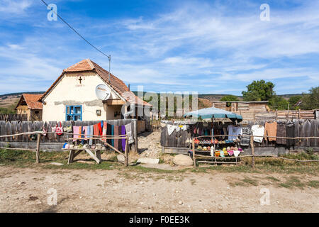 Romanian rural house in village of magura in the piatra craiului stock photo royalty free image - Saxon style houses in transylvania ...