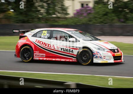 oulton park british touring car championship stock photo. Black Bedroom Furniture Sets. Home Design Ideas