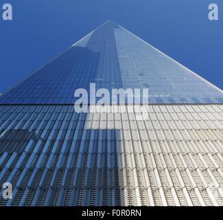 New York, NY, USA. 25th July, 2015. July 26, 2015 - New York, New York, USA - The One World Trade Center recently - Stock Photo