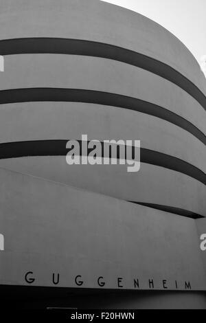 The Guggenheim Museum in New York City. - Stock Photo