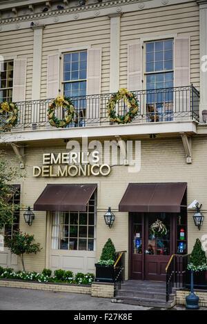 The famous emeril 39 s delmonico restaurant in the lower garden stock photo royalty free image for Garden district new orleans restaurants