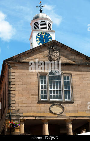 The Old Town Hall (Jonathan Pickernell, 1788), Market Place, Whitby, Yorkshire, England, UK - Stock Photo