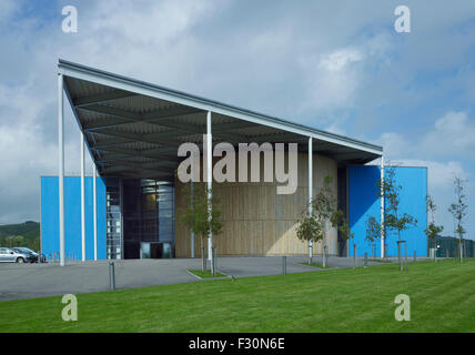 Folkestone Academy, Kent. By Spencer de Grey of Foster & Partners, 2003-07 - Stock Photo