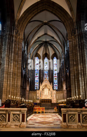 The interior of St Mary's Episcopal (Church of England ...