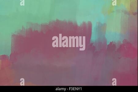 Modern Abstract Painting Contemporary Fine Art Canvas Background Or Texture. Watercolor Oil And Acrylic Paintings - Stock Photo