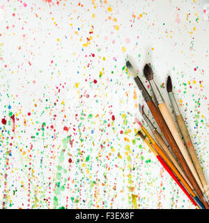 Spotted color background - Stock Photo