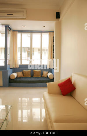 Interior Of Living Room Of Residential Flat Bombay Mumbai Stock Photo Royalty Free Image