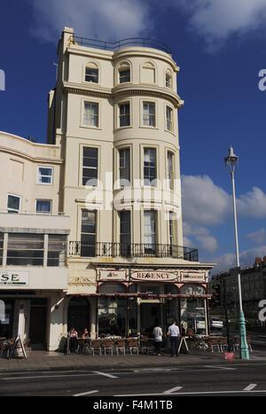 the regency seafood restaurant on brighton seafront uk. Black Bedroom Furniture Sets. Home Design Ideas
