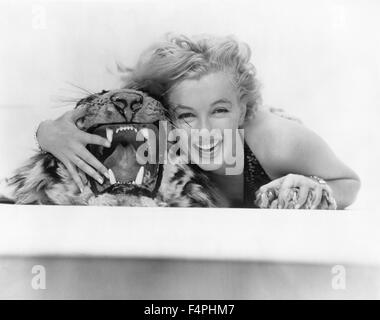 Marilyn Monroe / The Prince and the Showgirl / 1957 directed by Laurence Olivier [Warner Bros. Pictures] - Stock Photo